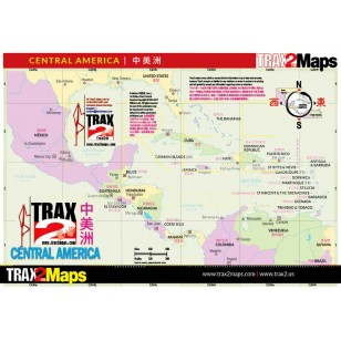 Free Central American eMap
