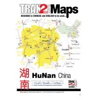 Hunan China pdf map
