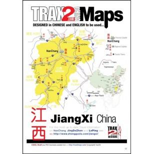 Jiangxi China pdf map