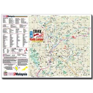 New Kuala Lumpur city map and guide