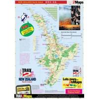 New Zealand 新西兰 North Island Map