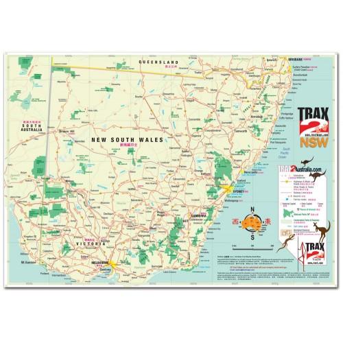 Map Of Nsw And Victoria Australia.Victoria Australia Map