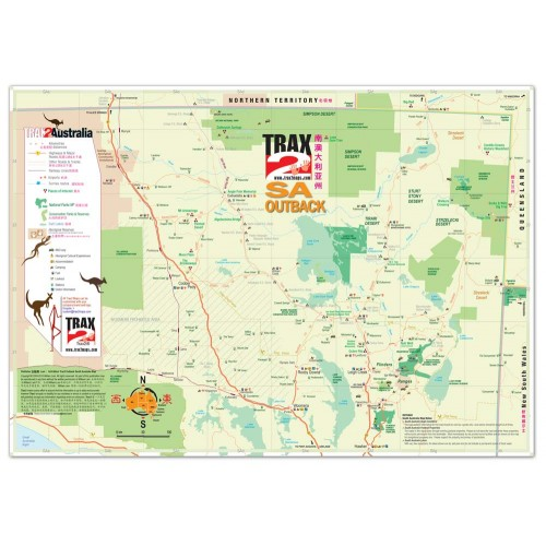 Where Is The Outback In Australia On A Map.South Australia Outback Map