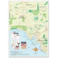 South Australia Road Map