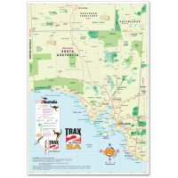 South Australia Road Map