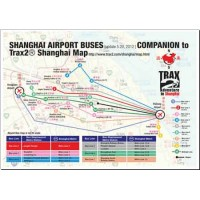 Shanghai airport bus map