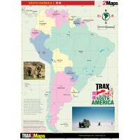 South America Map High Res