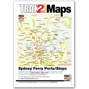 Sydney ferry eMap