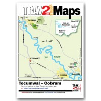 Tocumwal Cobram Map