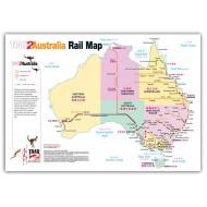 Australia Train Map